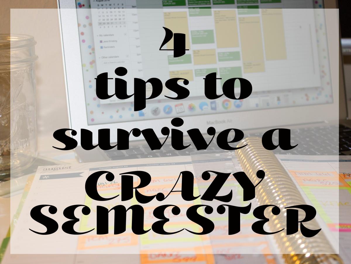 A Crazy SemesterAhead